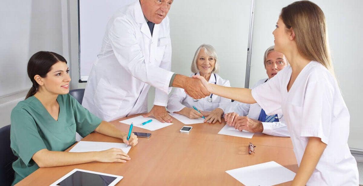Nursing job interview