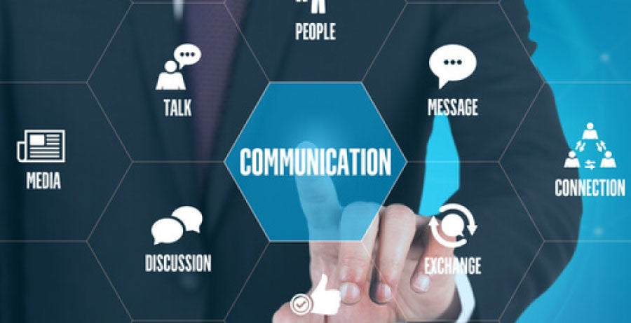 Fundamentals of communication graphic