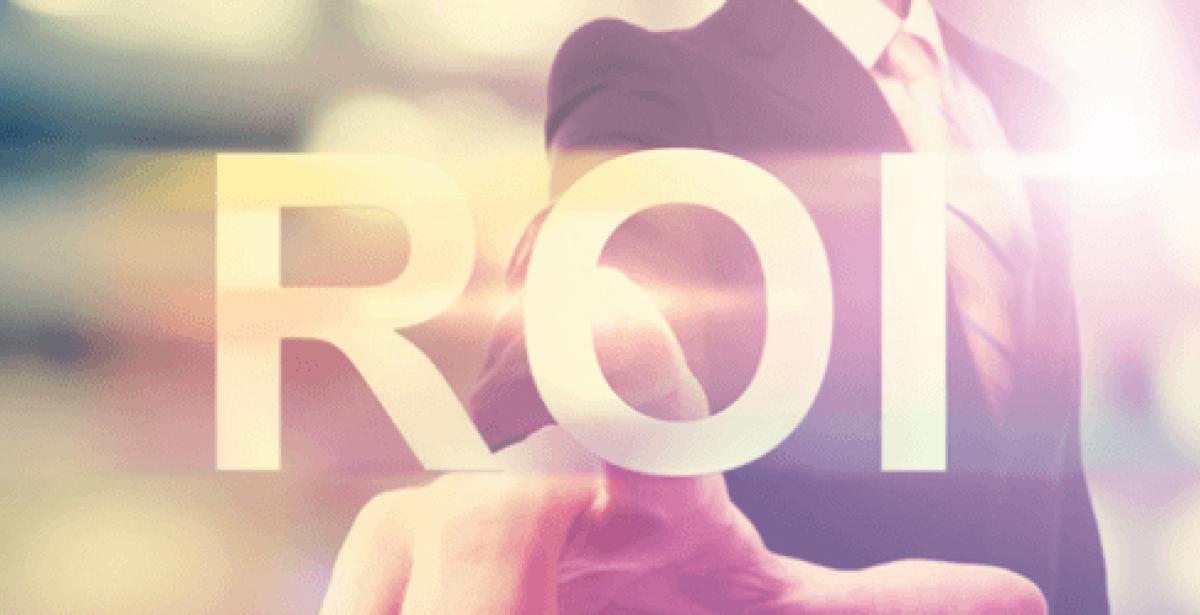 ROI (Return in Investment) Graphic