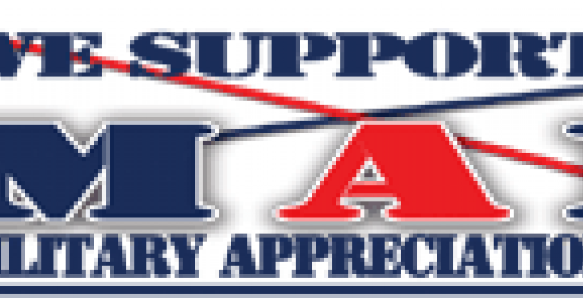 We Support National Military Appreciation Month banner