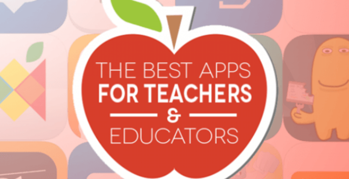 Best apps for teachers and educators graphic