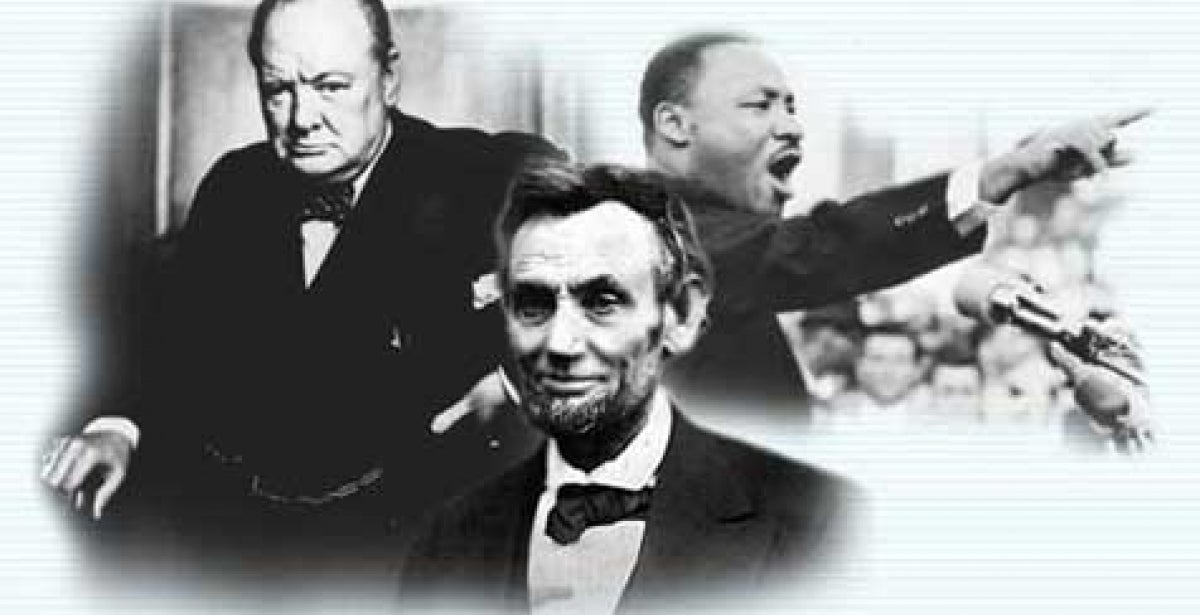 Great leaders through history