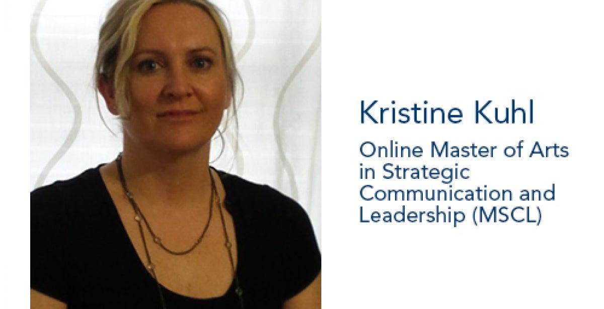 Kristine Kuhl, SAU graduate