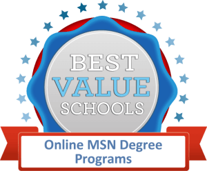 Best Value Schools - Online MSN Degree Programs Badge