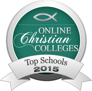 Online Christian Colleges - Top Schools 2015 Badge